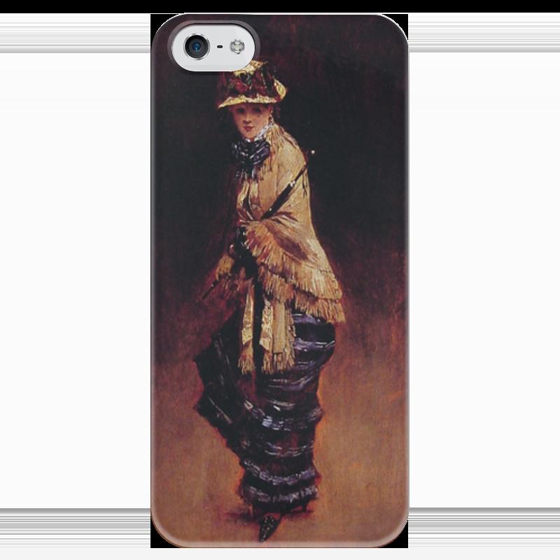 Чехол для iPhone 5 глянцевый, с полной запечаткой Printio Молодая парижанка (жан беро) салонный фильтр мазда демио dy3w