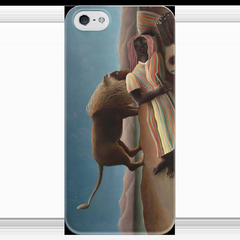 Чехол для iPhone 5 глянцевый, с полной запечаткой Printio Спящая цыганка чехол для iphone 6 глянцевый printio спящая красавица сказка