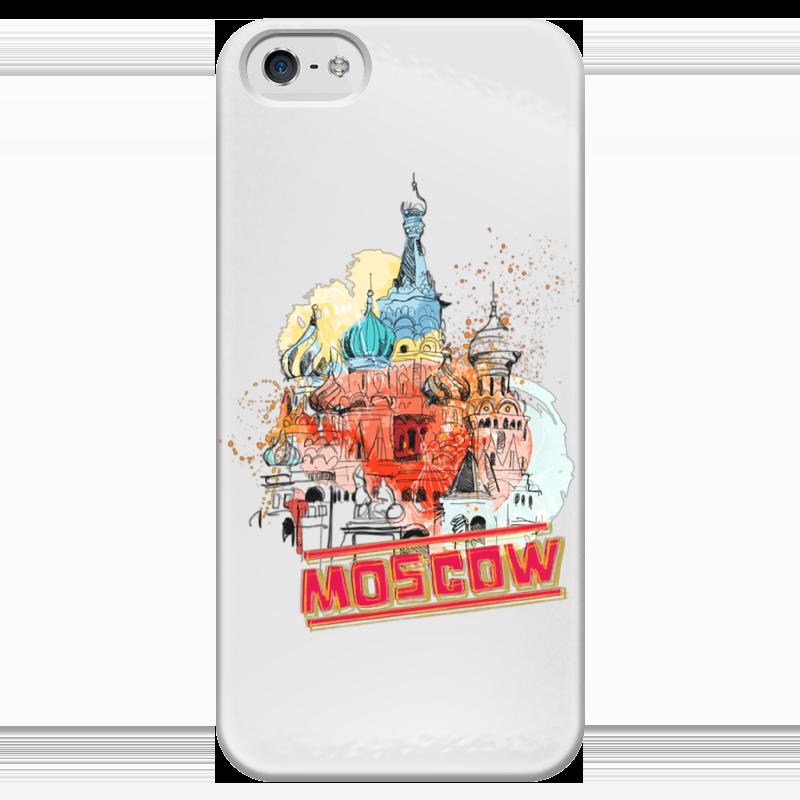 Чехол для iPhone 5 глянцевый, с полной запечаткой Printio Москва купить шурупов рт на все инструменты на ул складочная г москва