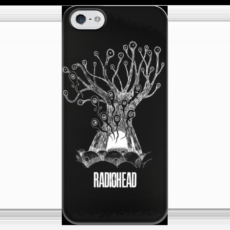 Чехол для iPhone 5 глянцевый, с полной запечаткой Printio Radiohead cd из японии radiohead