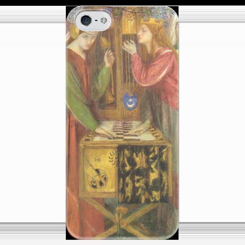 Чехол для iPhone 5 глянцевый, с полной запечаткой Printio Голубой кабинет (данте габриэль россетти) домашний кабинет