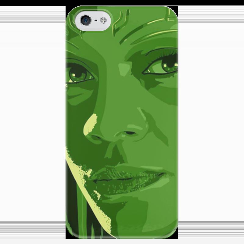 Чехол для iPhone 5 глянцевый, с полной запечаткой Printio Гамора чехол для iphone 5 глянцевый с полной запечаткой printio ember spirit dota 2