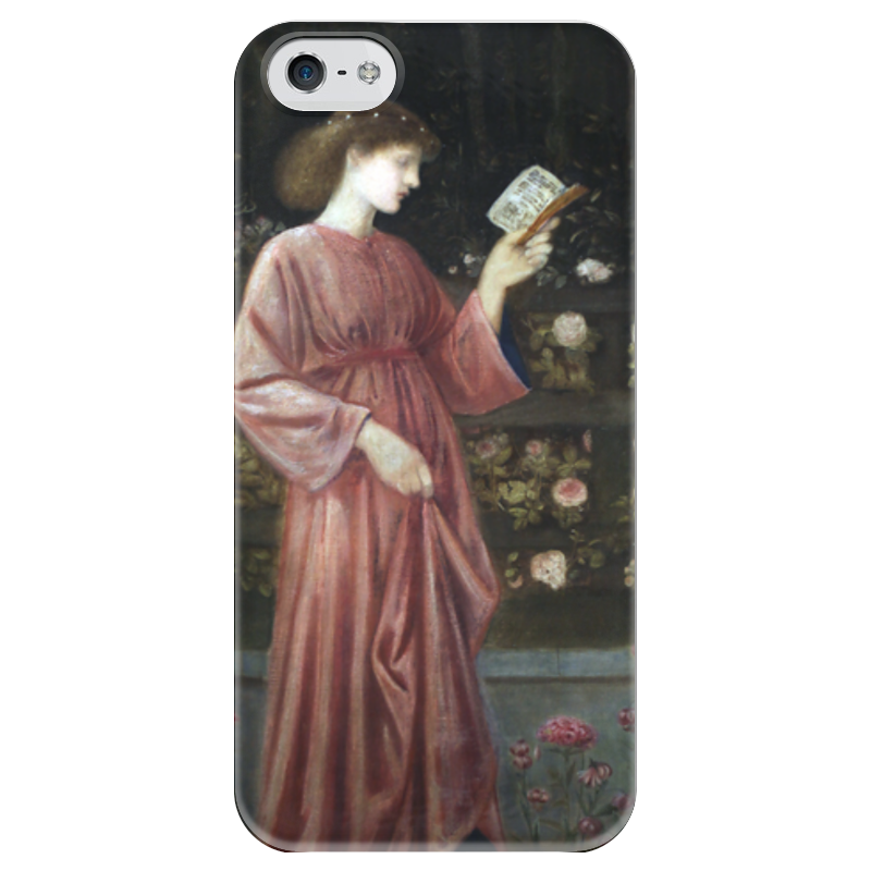 Чехол для iPhone 5 глянцевый, с полной запечаткой Printio Принцесса сабра (эдвард коли бёрн-джонс) коли о кьеркегор