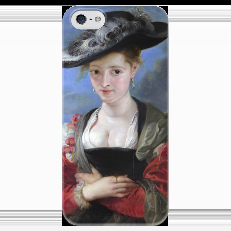 Чехол для iPhone 5 глянцевый, с полной запечаткой Printio Свояченица сусанна («соломенная шляпка») ваша шляпка берет