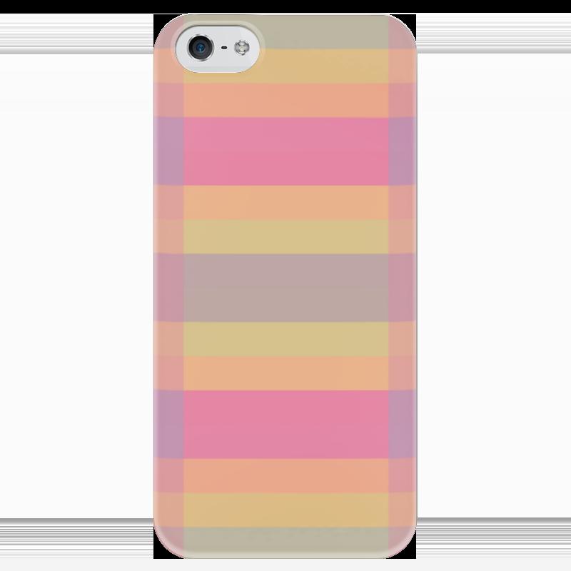 Чехол для iPhone 5 глянцевый, с полной запечаткой Printio Tf3olo