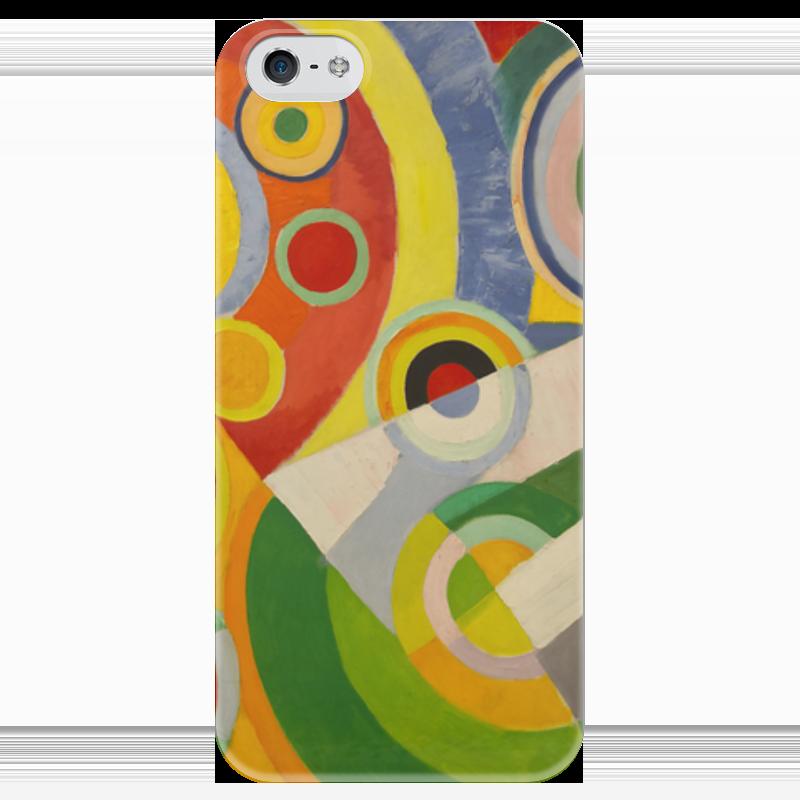 Чехол для iPhone 5 глянцевый, с полной запечаткой Printio Абстракционизм (картина делоне) н б делоне квантовая природа вещества