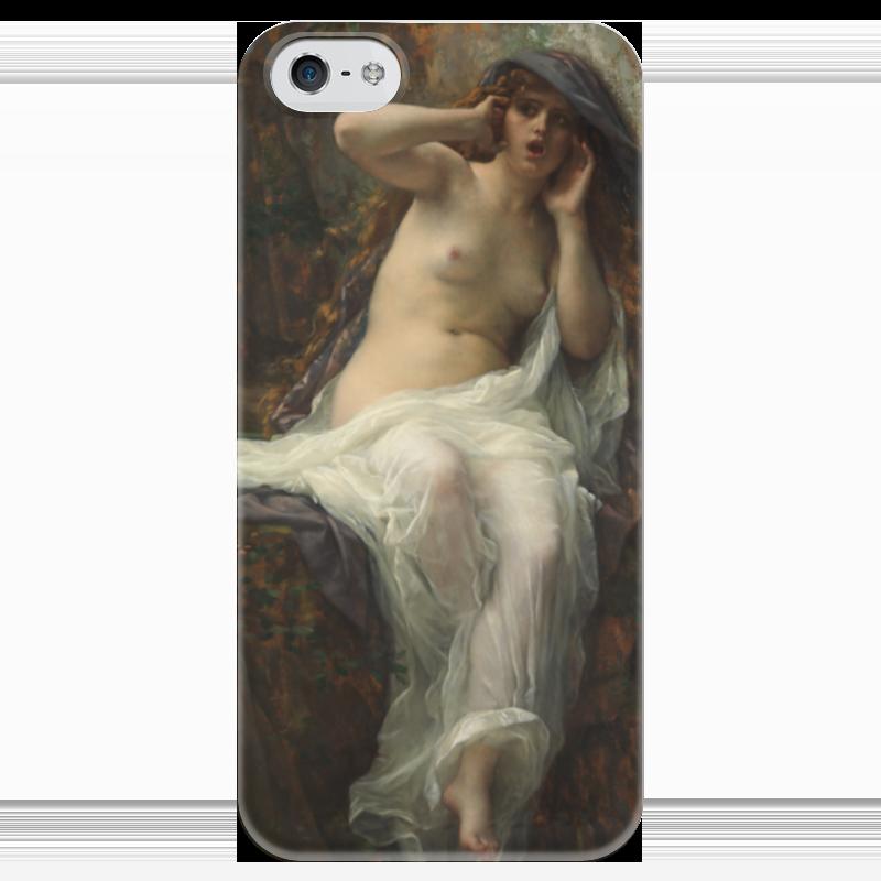 Чехол для iPhone 5 глянцевый, с полной запечаткой Printio Эхо (картина кабанеля) амаяк tер абрамянц эхо армении