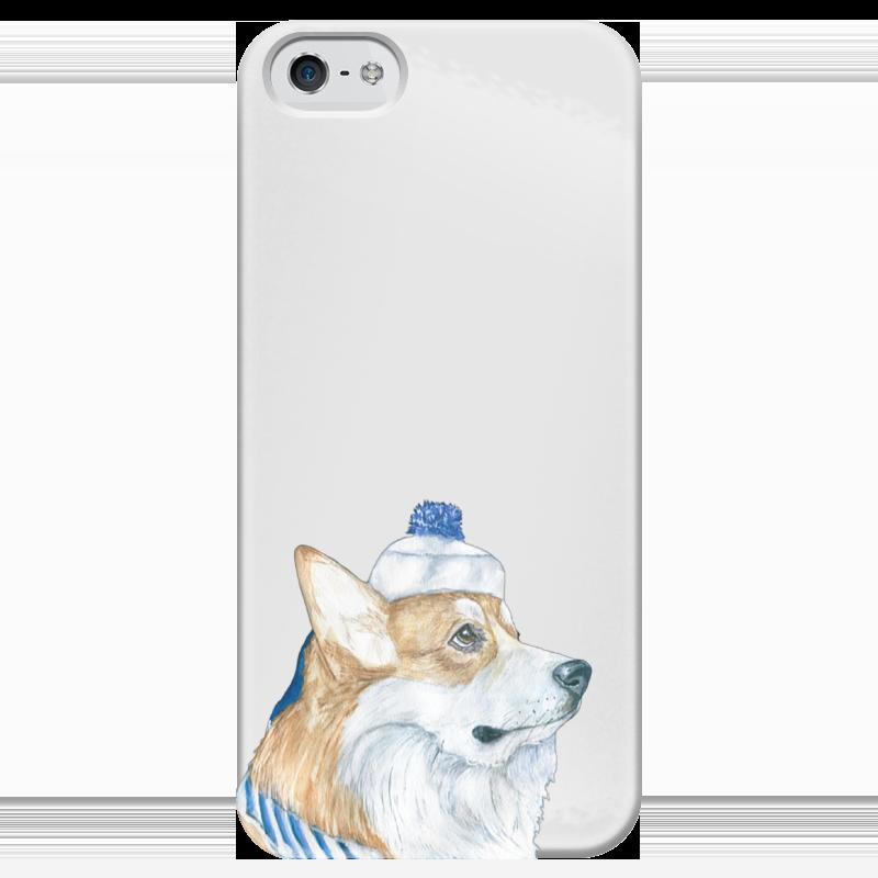 Чехол для iPhone 5 глянцевый, с полной запечаткой Printio Моя любимая собака чехол для iphone 4 глянцевый с полной запечаткой printio эфиопка