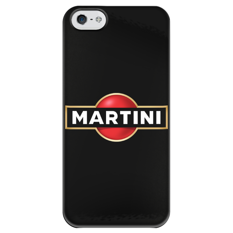 Чехол для iPhone 5 глянцевый, с полной запечаткой Printio Martini аксессуар чехол sony xperia xz premium brosco silicone black xzp tpu black