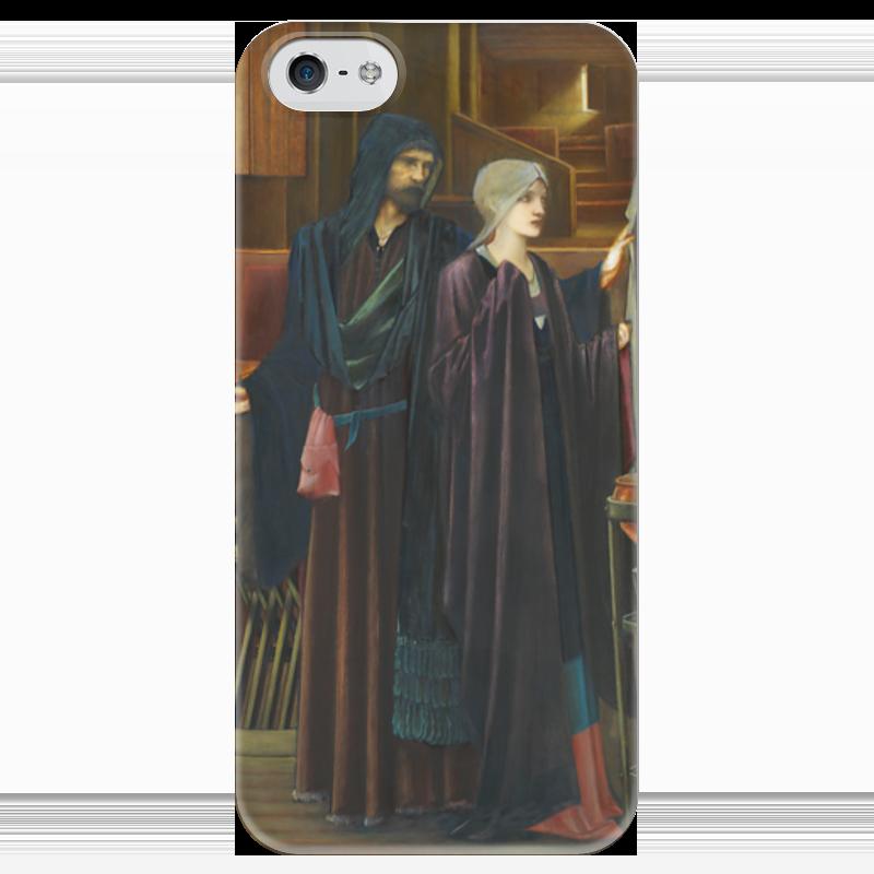 Чехол для iPhone 5 глянцевый, с полной запечаткой Printio Маг (the wizard) the wizard