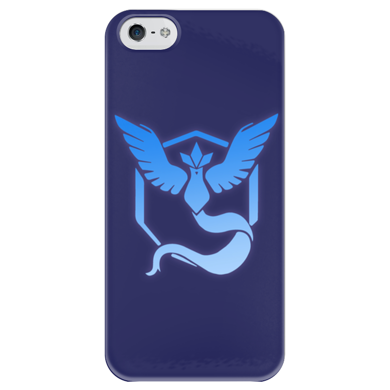 Чехол для iPhone 5 глянцевый, с полной запечаткой Printio Pokemon go: mystic team блокнот printio pokemon go