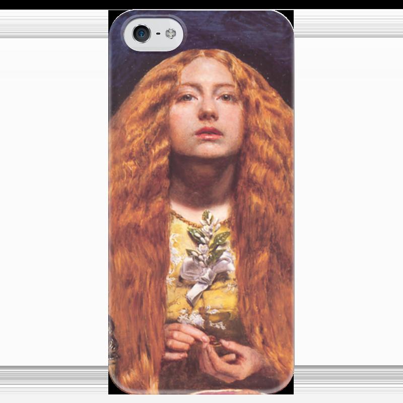 Чехол для iPhone 5 глянцевый, с полной запечаткой Printio Подружка невесты стефания лукас джон эверетт милле