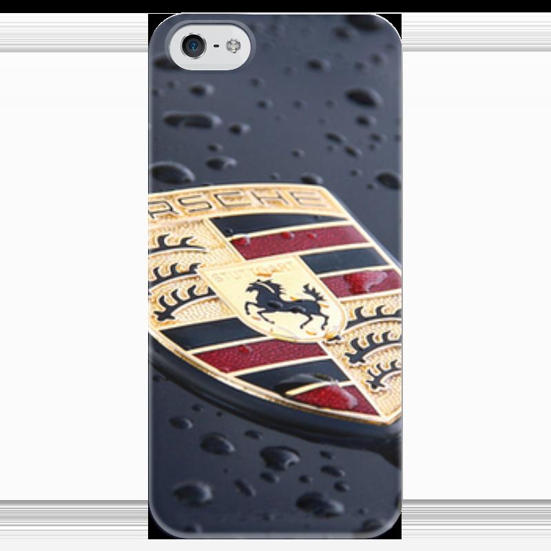 Чехол для iPhone 5 глянцевый, с полной запечаткой Printio Porsche чехол для iphone 5 глянцевый с полной запечаткой printio пилот
