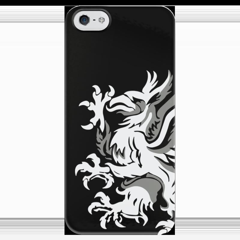 Чехол для iPhone 5 глянцевый, с полной запечаткой Printio Dragon age. серые стражи чехол для iphone 5 глянцевый с полной запечаткой printio dota 2 dragon knight