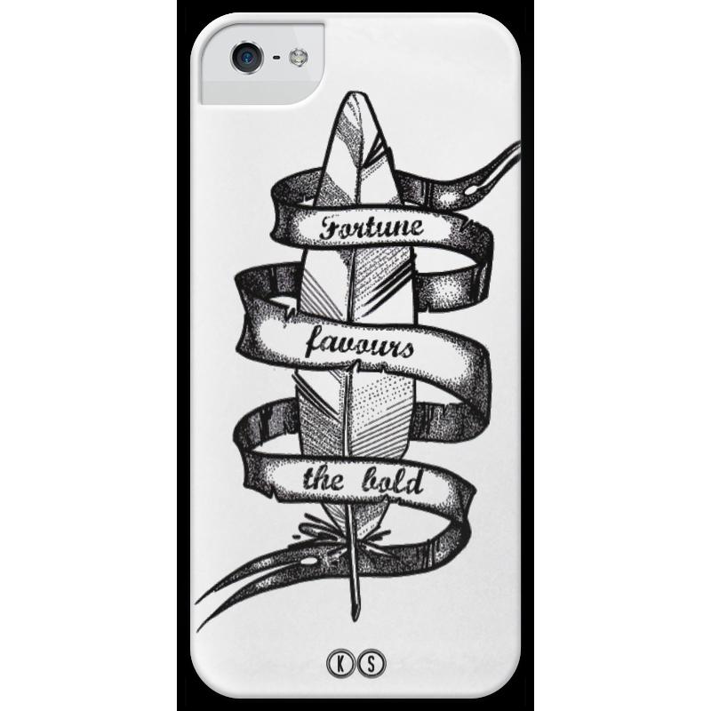Чехол для iPhone 5 глянцевый, с полной запечаткой Printio Fortune чехол для iphone 5 глянцевый с полной запечаткой printio ember spirit dota 2