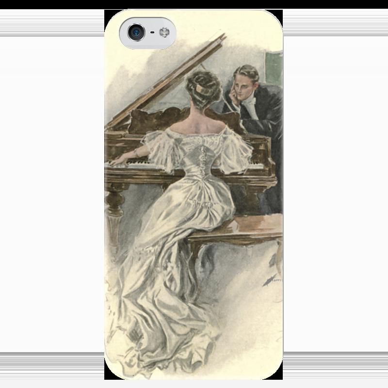 Чехол для iPhone 5 глянцевый, с полной запечаткой Printio День святого валентина чехол для iphone 5 глянцевый с полной запечаткой printio осенний день сокольники левитан