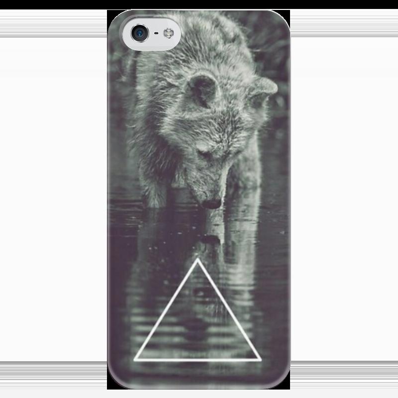 Чехол для iPhone 5 глянцевый, с полной запечаткой Printio Анималистичный чехол для iphone 4 глянцевый с полной запечаткой printio эфиопка