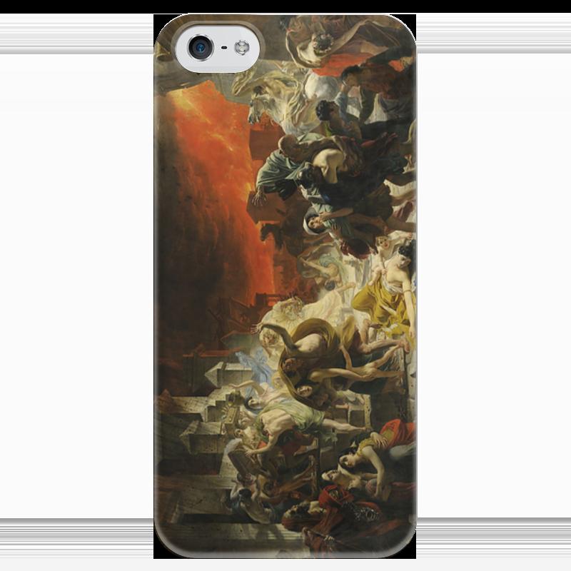 Чехол для iPhone 5 глянцевый, с полной запечаткой Printio Последний день помпеи (картина брюллова) последний патрон
