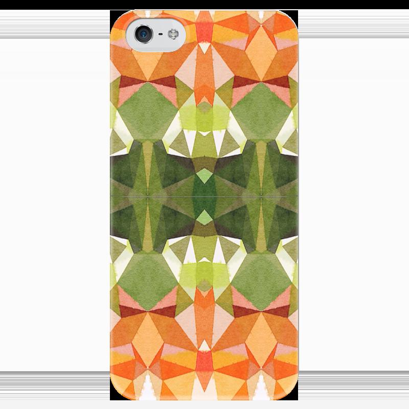 Чехол для iPhone 5 глянцевый, с полной запечаткой Printio Морковный фреш футболка с полной запечаткой для девочек printio морковный фреш