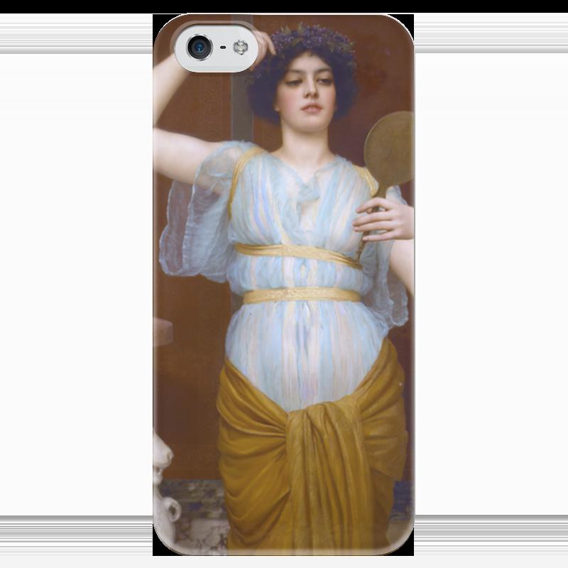 Чехол для iPhone 5 глянцевый, с полной запечаткой Printio Ione (1900) (джон уильям годвард) чехол для iphone 5 глянцевый с полной запечаткой printio афинаида джон уильям годвард