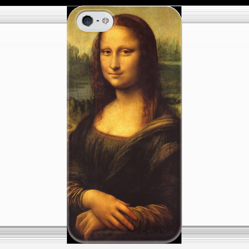 Чехол для iPhone 5 глянцевый, с полной запечаткой Printio Mona lisa lisa corti сандалии