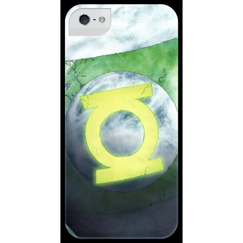 Чехол для iPhone 5 глянцевый, с полной запечаткой Printio Green lantern футболка с полной запечаткой printio green lantern the duck 2