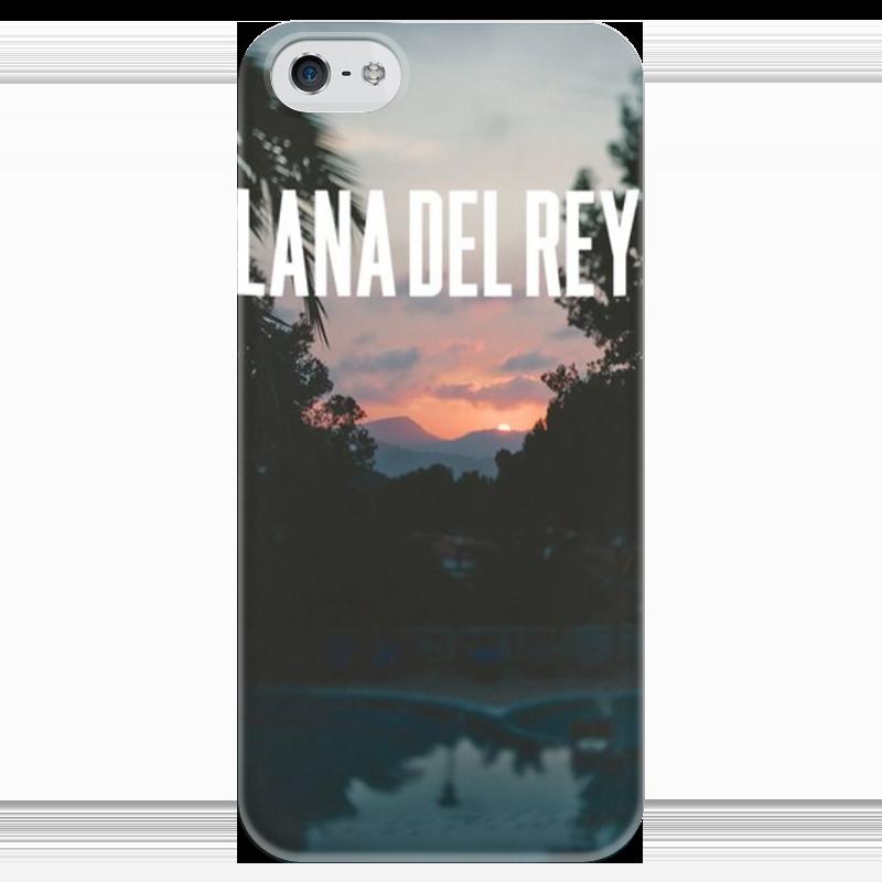 Чехол для iPhone 5 глянцевый, с полной запечаткой Printio Lana del rey чехол для iphone 4 глянцевый с полной запечаткой printio эфиопка