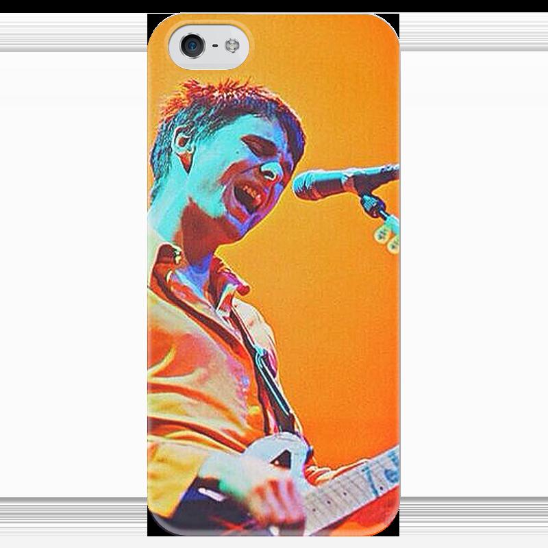 Чехол для iPhone 5 глянцевый, с полной запечаткой Printio Muse. чехол для iphone 5 глянцевый с полной запечаткой printio ember spirit dota 2
