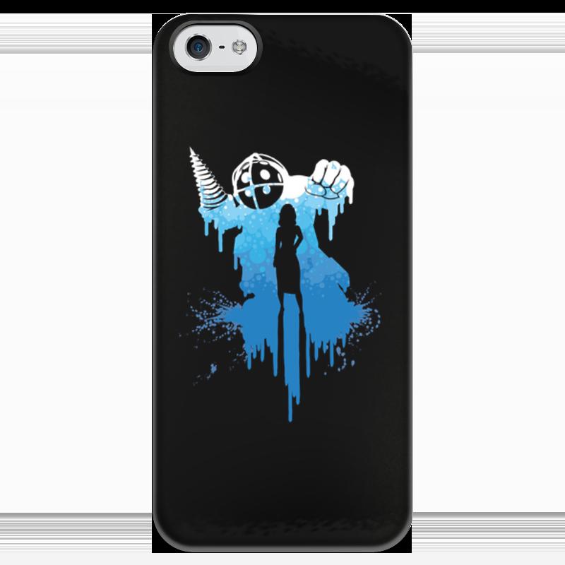 Чехол для iPhone 5 глянцевый, с полной запечаткой Printio Bioshock чехол для iphone 4 глянцевый с полной запечаткой printio эфиопка