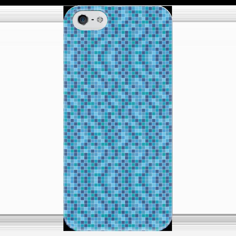 Чехол для iPhone 5 глянцевый, с полной запечаткой Printio Мозайка футболка с полной запечаткой для девочек printio футбольная мозайка фернандо торрес