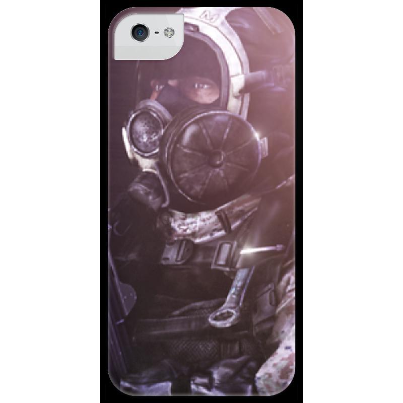 Чехол для iPhone 5 глянцевый, с полной запечаткой Printio Battlefield 3 battlefield 3 для ps3 онлайн