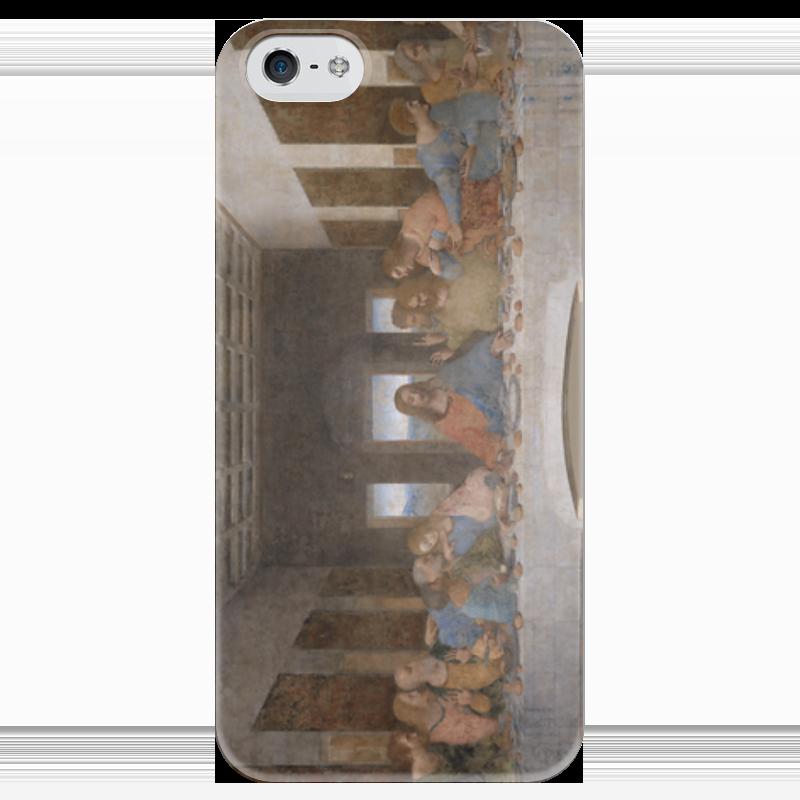 Чехол для iPhone 5 глянцевый, с полной запечаткой Printio Тайная вечеря (картина леонардо да винчи) набор для сборки revell танк леонардо да винчи