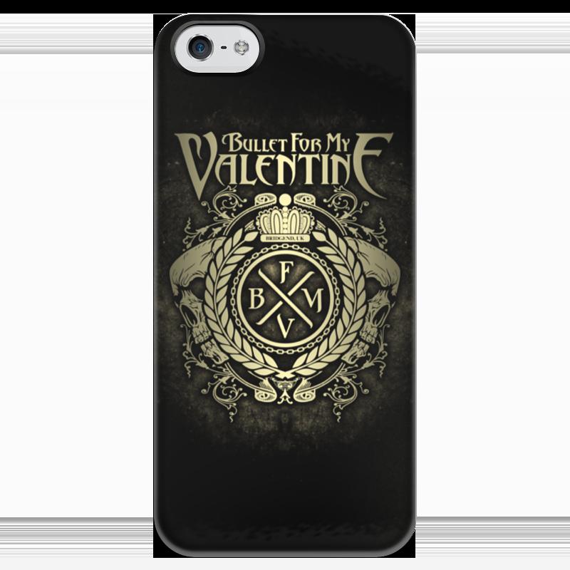Чехол для iPhone 5 глянцевый, с полной запечаткой Printio Bullet for my valentine чехол для iphone 4 глянцевый с полной запечаткой printio my space