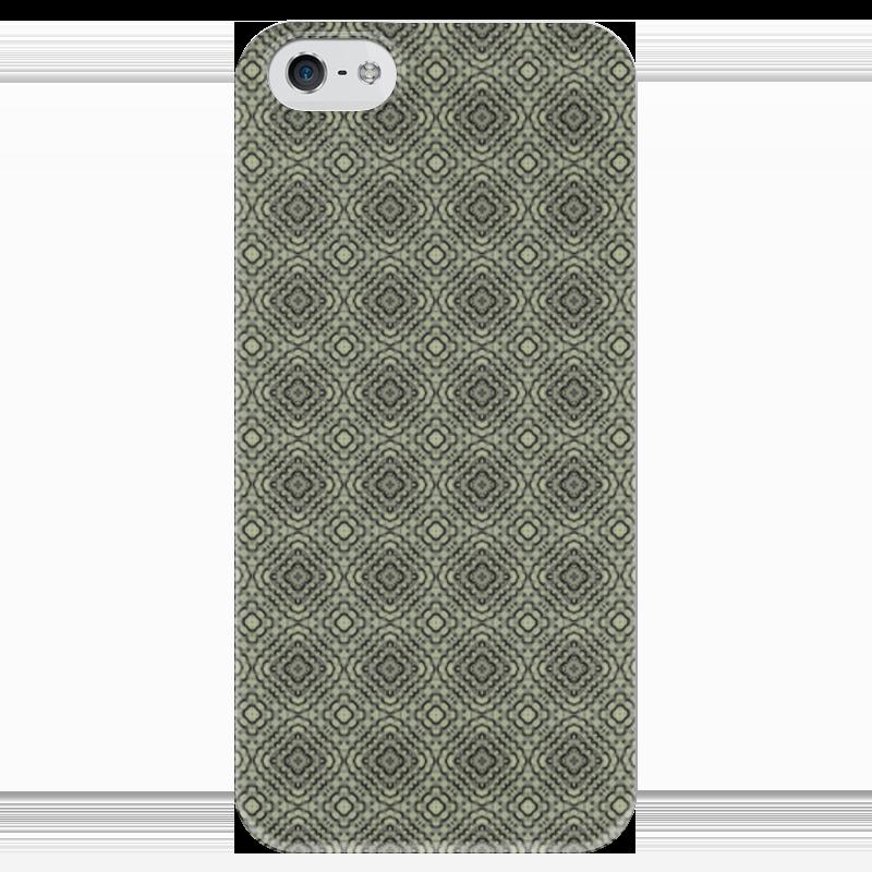 Чехол для iPhone 5 глянцевый, с полной запечаткой Printio Flux чехол для iphone 5 глянцевый с полной запечаткой printio цикличность