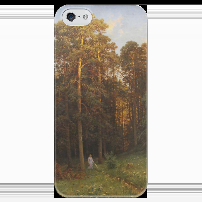 Чехол для iPhone 5 глянцевый, с полной запечаткой Printio На опушке соснового леса (иван шишкин) иван бунин жизнь арсеньева