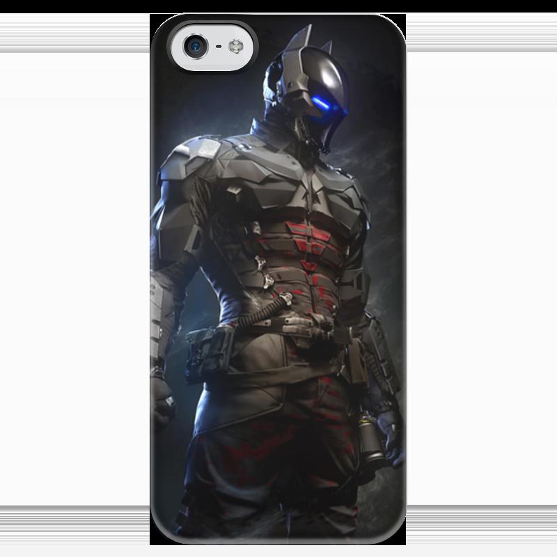 Чехол для iPhone 5 глянцевый, с полной запечаткой Printio Рыцарь аркхема видеоигра софтклаб batman рыцарь аркхема premium edition