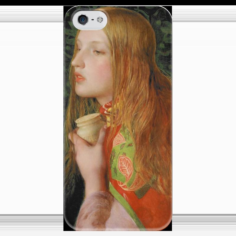 Чехол для iPhone 5 глянцевый, с полной запечаткой Printio Мария магдалина (картина фредерика сэндиса) профет элизабет клэр бут эннис мария магдалина тв вселенский аспект женской божественности