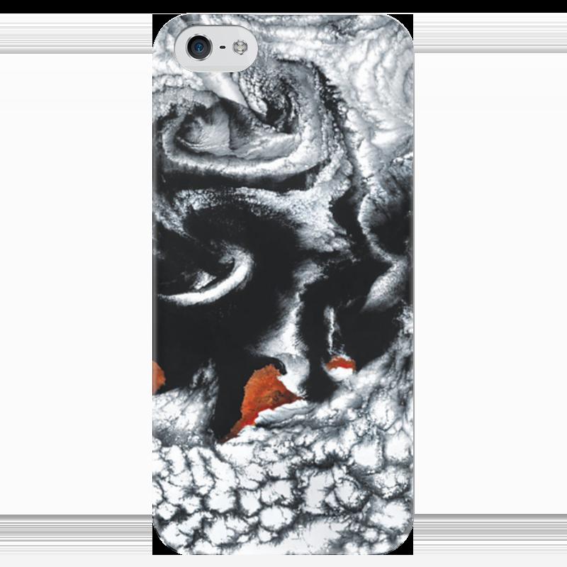 Чехол для iPhone 5 глянцевый, с полной запечаткой Printio Космос чехол для iphone 4 глянцевый с полной запечаткой printio бэтмен