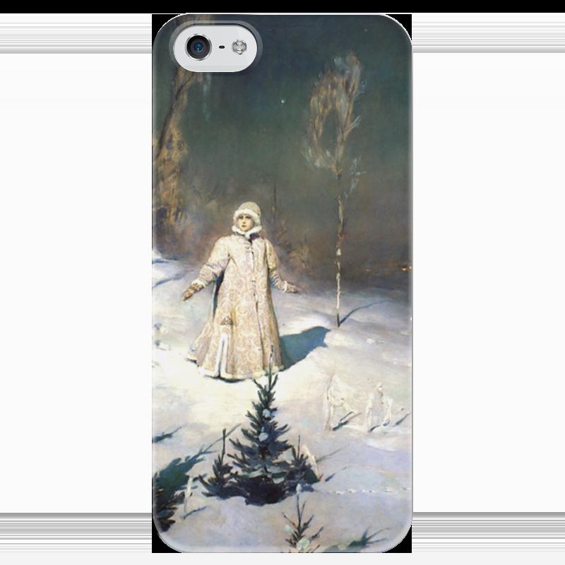 Чехол для iPhone 5 глянцевый, с полной запечаткой Printio Снегурочка (картина васнецова) виктор васнецов минувших дней печаль и радость набор репродукций