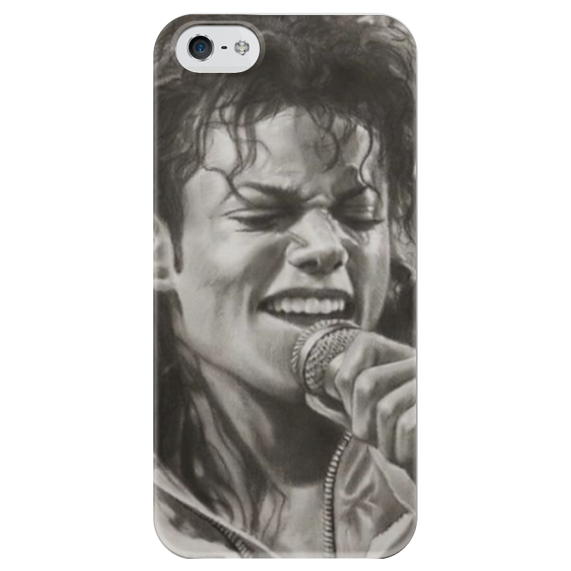 Чехол для iPhone 5 глянцевый, с полной запечаткой Printio Майк джексон прекрасен чехол для iphone 4 глянцевый с полной запечаткой printio эфиопка