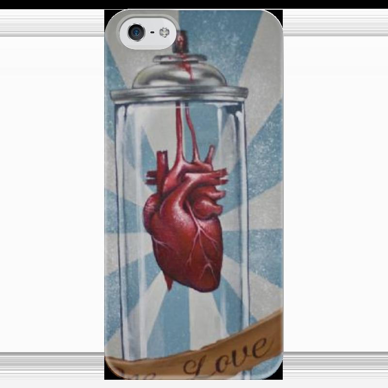Чехол для iPhone 5 глянцевый, с полной запечаткой Printio One love чехол для iphone 5 глянцевый с полной запечаткой printio twenty one pilots