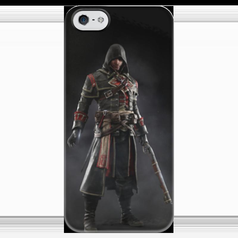 Чехол для iPhone 5 глянцевый, с полной запечаткой Printio Assassins creed (rogue) assassins creed origins aya action figure collectible model toy 22cm