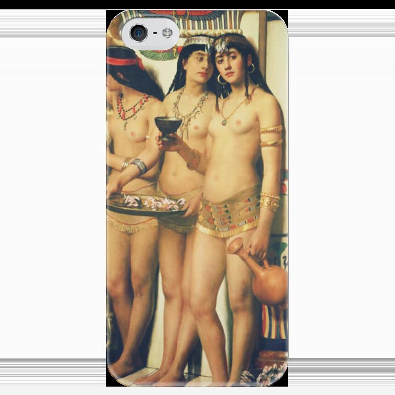 Чехол для iPhone 5 глянцевый, с полной запечаткой Printio Рабыни фараона (джон кольер) оборудование для окраски авто цены
