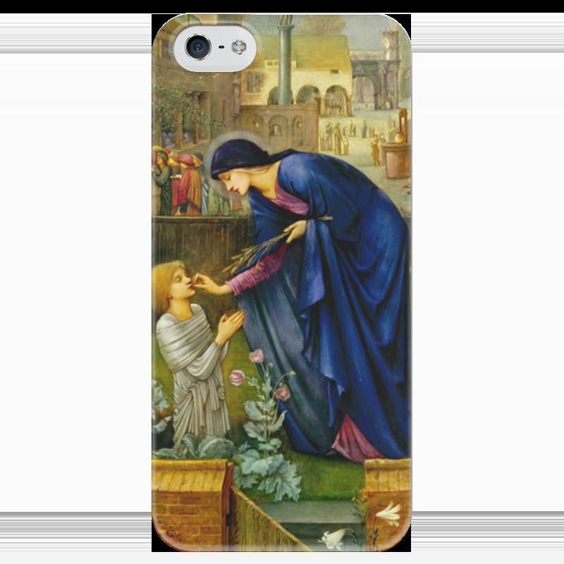 Чехол для iPhone 5 глянцевый, с полной запечаткой Printio Сказка настоятельницы (the prioress's tale) the orphan s tale