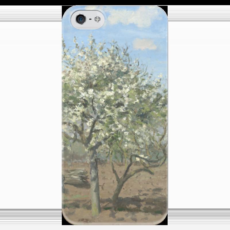 Чехол для iPhone 5 глянцевый, с полной запечаткой Printio Фруктовый сад в цвету чехол для iphone 4 глянцевый с полной запечаткой printio фруктовый сад в цвету