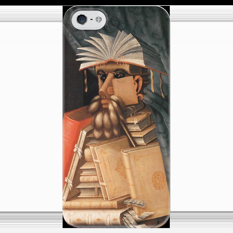 Чехол для iPhone 5 глянцевый, с полной запечаткой Printio Библиотекарь (джузеппе арчимбольдо) елизаров м ю библиотекарь