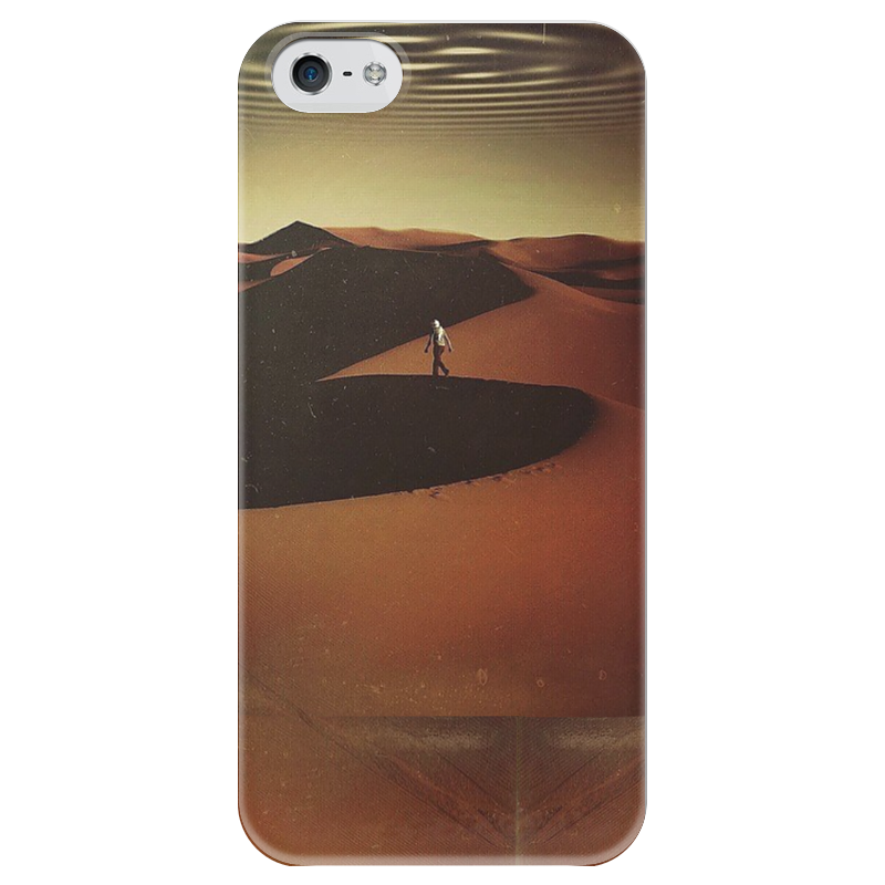 Чехол для iPhone 5 глянцевый, с полной запечаткой Printio Traveler in the desert biggles wwii collection biggles defies the swastika biggles delivers the goods biggles defends the desert