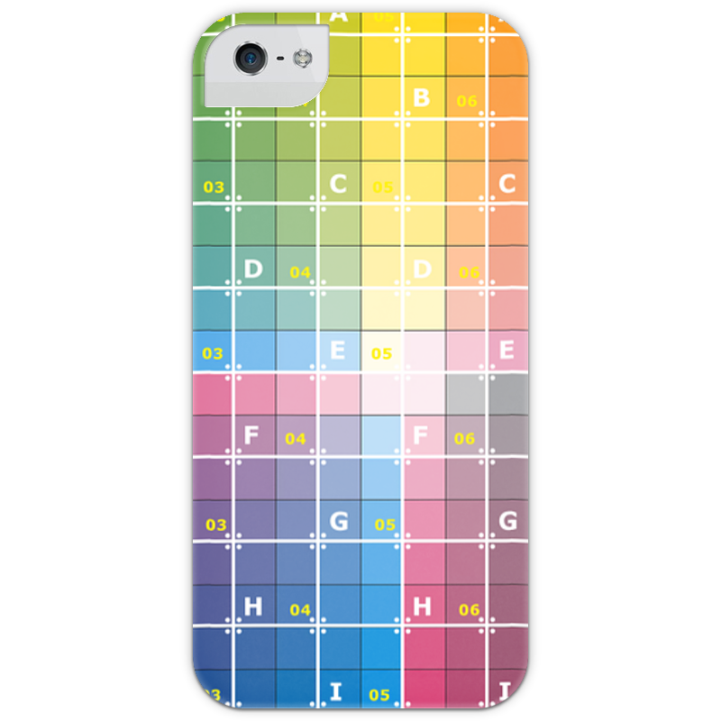 Чехол для iPhone 5 глянцевый, с полной запечаткой Printio Uv grid iphone case dots pattern flexible tpu case for iphone 7 plus 5 5 inch purple
