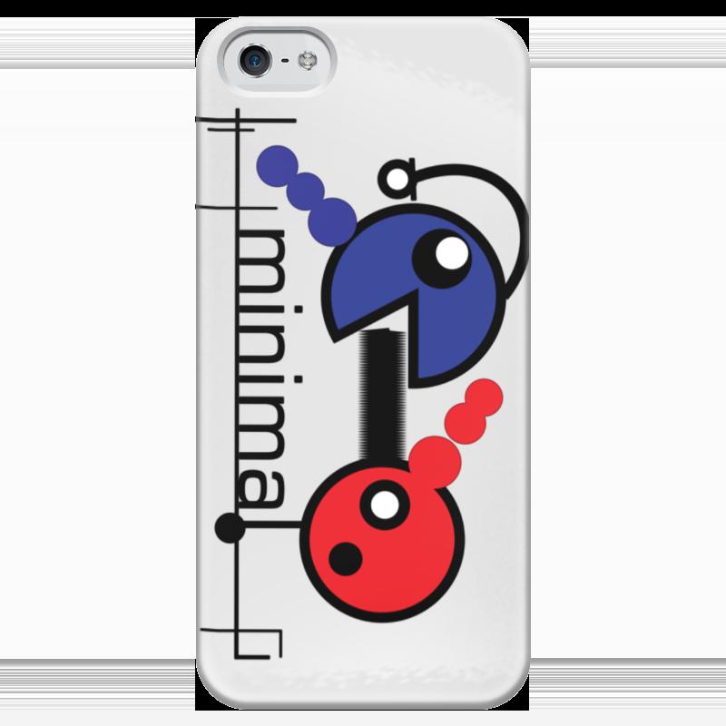 Чехол для iPhone 5 глянцевый, с полной запечаткой Printio Минимал чехол для iphone 5 глянцевый с полной запечаткой printio ember spirit dota 2