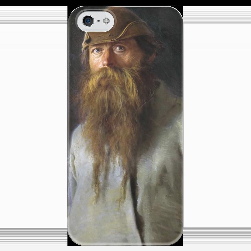 Чехол для iPhone 5 глянцевый, с полной запечаткой Printio Полесовщик (картина крамского) картина exetera argenti pl300414